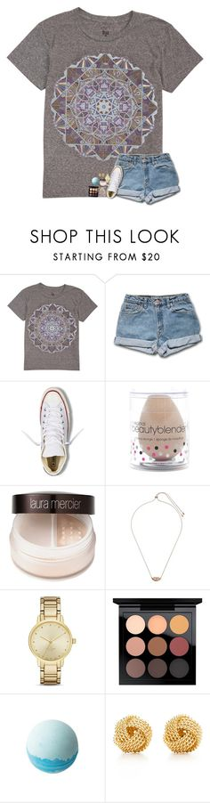 """Fishing update!"" by lovelyelegantgirl ❤ liked on Polyvore featuring Billabong, Converse, beautyblender, Laura Mercier, Kendra Scott, Kate Spade, MAC Cosmetics and Tiffany & Co."