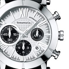 Tiffany & Co. | Browse Men's Watches | United States~~ Nice to see a Roman numeral watch done correctly!!!