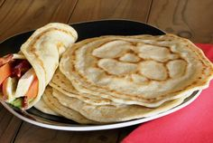 Paleo gluten free tortillas. I have tapioca flour and coconut flour so I can make these. Can freeze them too!  Can use them with carnitas (recipe from Pressure Cooker board)