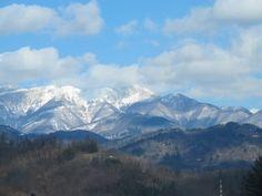 Mountains surrounding Bagni di Lucca