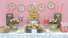 BEACH PARTIES: GIRL PARTIES: The Beach Luau Aloha Party in Pink and Aqua