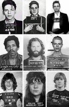 Rock star criminals