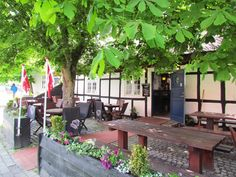 """Restaurant """"Futten"""" in Blokhus, Denmark They have a great Danish lunch buffet!!  http://www.futten.dk/"""