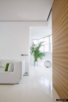 #minimalist #interior #design    'White Cub' Minimalist Apartment // ARCH.625 | Afflante.com