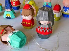 BLOG MANUALIDADES INFANTILES, cajas de huevos