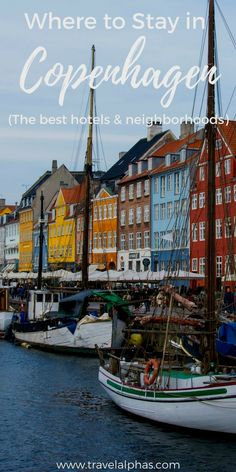 Looking for some Copenhagen, Denmark travel inspiration? When you visit, these are the best neighborhoods and hotels to stay in. Click to find out more. Thanks for pinning!  Dinamarca pontos Turisticos  Informazioni sul nostro sito   https://storelatina.com/denmark/travelling #Danemarca #డెన్మార్క్ #Данска #alamar