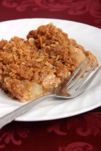 Gingersnap Apple-Pear Crumble