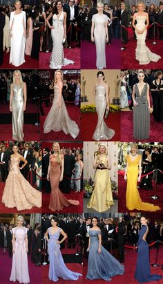 Best Oscar dresses in the last decade