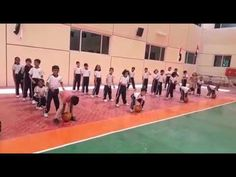 Ball Relay race (PE Recreational Game) - YouTube Relay Races, Basketball Court, Soccer, Racing, Games, Youtube, Sports, Hs Football, Plays