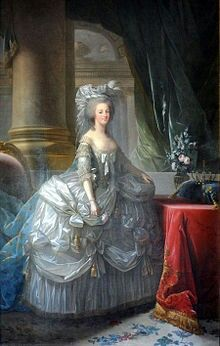 Maria Antonia Josepha (or Josephina) Johanna; [1] 2 November 1755 –16 October 1793), born an Archduchess of Austria, was Dauphine of France from 1770 to 1774 and Queen of France and Navarre from 1774 to 1792. She was the fifteenth and penultimate child of Holy Roman Empress Maria Theresa and Emperor Francis I.