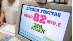 Eurojackpot geknackt! 84,8 Millionen Euro gehen nach Hessen - News - Bild.de