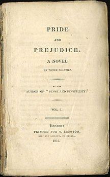 j.Austen, Orgoglio e pregiudizio