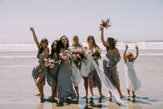 Mykonos Rewritten Bridesmaid Dresses for an Epic Clifftop Coastal Wedding with Bride in Grace Loves Lace Inca Gown, shot by Nic Ford Photography Wedding Fair, Dream Wedding, Red Bridemaids Dresses, Bridesmaids, Lace Hairpiece, Headpiece, Red Wedding Gowns, Grace Loves Lace, Beach Babe