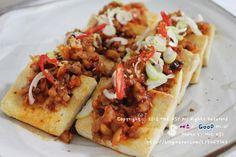두부김치 (tofu and kimchi) easy to make, delicious and good for you ^_^