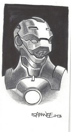 Iron Man by Chris Samnee