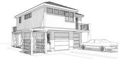 9 Sketsa Rumah Minimalis Yang Istimewa   Gambar Desain Rumah