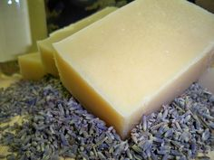 """Dry itchy winter skin? Try our olive oil based soap. You will love the results.  Our soaps are made from olive oil, coconut oil,palm oil, organic soybean oil, castor and 100% pure lavender essential oil.We also add ground oatmeal for additional comfort to the skin.  This is the product that launched this whole company.  This soap also was picked as a """"Editor Choice"""" from Parents Magazine as the best Lavender Soap in the USA."""