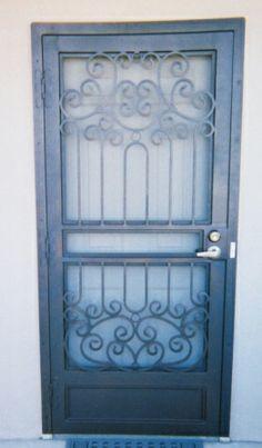 Decorative Security Screen Doors residential security screen door | melbourne steel security