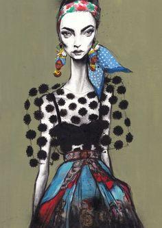 Ilustracion de modas