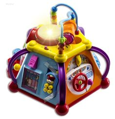 Toddler Musical Activity Cube Play Center 15 Functions & Skills Kids Toy Gift #WolVol