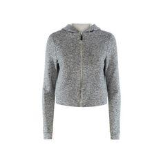 Related Alba Hoodie ($200) ❤ liked on Polyvore featuring tops, hoodies, grey, grey hooded sweatshirt, hooded crop top, grey hoodie, grey crop top and grey hoodies