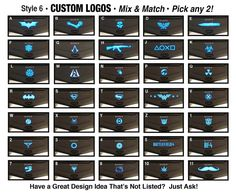 PS4 Light Decals for the Dualshock 4