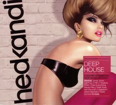 2013 Hed Kandi: Deep House 2013 [Hed Kandi HEDK129] illustration by Jasper Goodall #albumcover #fashion