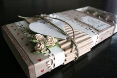 Other: Decorated toffifee box Chocolate Card, Diy And Crafts, Paper Crafts, Flower Food, Diy Box, Cute Packaging, Stamping Up, Gift Wrapping, Projects
