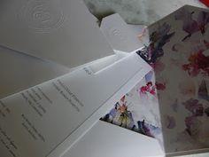 Marie Papiers  |  Convites Exclusivos: Convite Floral.Para casar na primavera