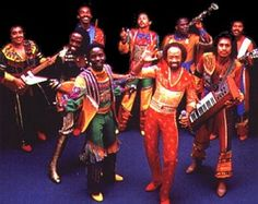 """Earth Wind & Fire:  After seeing the group open for John Sebastian in New York, Clive Davis signed them to CBS, where they debuted in 1972 with Last Days and Time. The single """"Mighty Mighty"""" became EWF's first Top Ten hit on the R charts. #one of my favorite groups #timeless"""