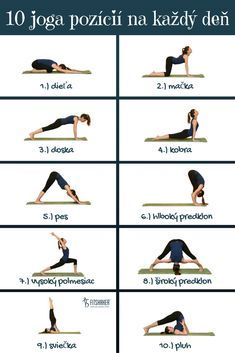 Týchto 10 joga pozícií by si mala robiť každý deň Yoga joga Yoga Fitness, Health Fitness, Hard Yoga, Yoga Positions, Restorative Yoga, Types Of Yoga, Yoga Poses For Beginners, Yoga For Weight Loss, Yoga Tips