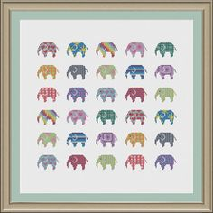 Please note that this is a cross stitch pattern and not a finished product. This is a beautiful, colourful design! This pattern requires 14 count Aida fabric and uses only full stitches. There are 4 PDF downloads included. One is for the pattern complete in black and white. Another is
