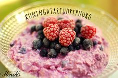 Breakfast Recipes, Cereal, Raspberry, Food And Drink, Fruit, Drinks, Drinking, Beverages, Drink
