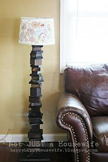 $10 DIY: $10 DIY Scrap Wood Lamp