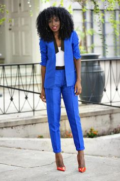 Over a dozen examples of how to wear a two-piece suit to the office