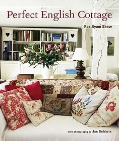 English country cottage cushions