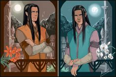"""Peredhil by MellorianJ.deviantart.com on @DeviantArt - Elrohir and Elladan from """"Lord of the Rings"""""""