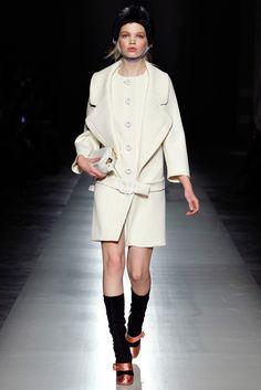 Prada Fall 2011 Ready-to-Wear Fashion Show - Daphne Groeneveld