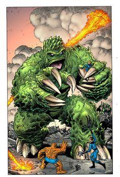 The Fantastic Four By Arthur Adams