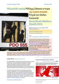 Hiszpanski szpieg pdo555 zabawa w trupa czy ladne kwiatki fo318 von stefan kosiewski generalowie maj