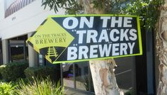 On the Tracks Brewing, Carlsbad California