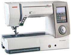 Maquina de Coser especial para Quilting. Marca Janome  Modelo Horizon MC8900QCP  Cómprala a 12 pagos fijos con tus tarjetas de crédito de Banamex y American Express.