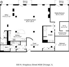 1000 images about floor plans on pinterest property for for Gourmet kitchen floor plans