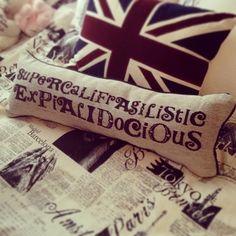 Mary Poppins Pillow...I want!!