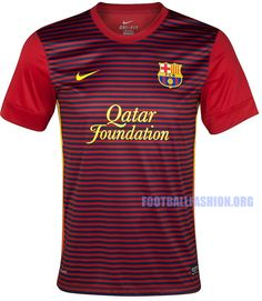 FC Barcelona Nike 2012/13 Prematch Soccer Jerseys // this even better than the official.