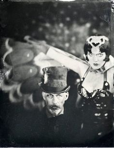 The morbid obsessions and historical musings of artist, collector, photographer and overall creative fellow, Anthony Marcus Black Vintage Goth, Vintage Circus, Marcus Black, Big Top, Vintage Costumes, Goth Girls, Vintage Images, Burlesque, Old Photos