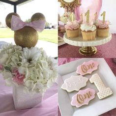 Minnie Mouse Birthday Party Ideas   Photo 3 of 15