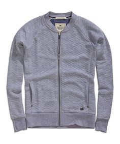 Look at this #zulilyfind! Gray Melange Quilted Jacket by TIMEOUT #zulilyfinds