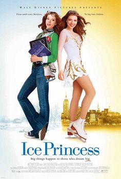 Ice Princess , starring Michelle Trachtenberg, Kim Cattrall, Trevor Blumas, Joan Cusack. With the help of her coach, her parents, and the boy who drives the Zamboni machine, nothing can stop Casey (Trachtenberg) from realizing her dream to be a champion figure skater. #Comedy #Drama #Family #Sport
