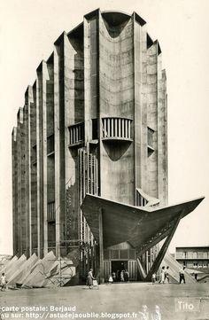 Royan - Eglise Notre-Dame. Architectes: Guillaume Gillet, Marc Hébrard. Ingenieurs: Bernard Lafaille, Ou Tseng, René Sarger. Construction: 1955 - 1958